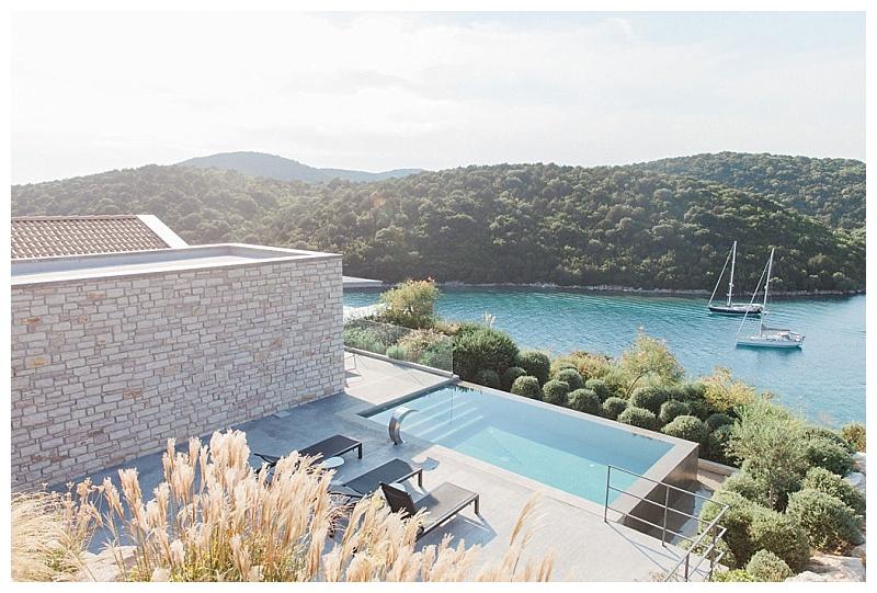 View from agios nikolaos suites sivota thesprotias