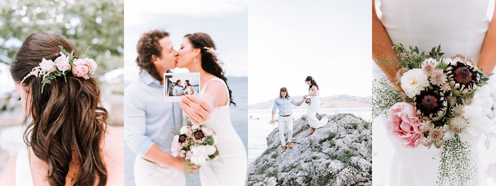 Collection of Images of Couple Eloping on Lefkada