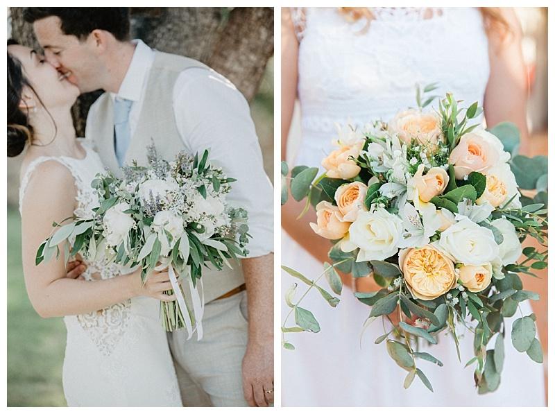 Luxury Personalised Wedding Day//Evening Peony White Blue Flowers