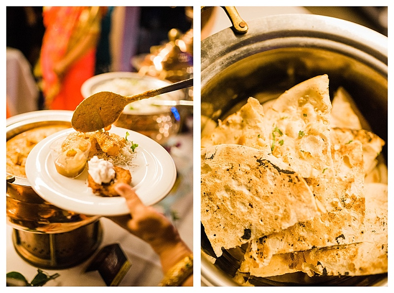 indian catering food images at wedding in greece