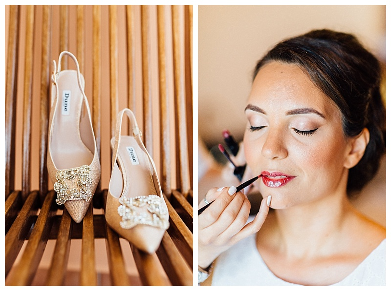 bridal makeup destination wedding preparation