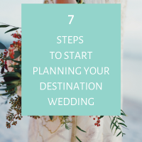 How to start planning your destination wedding in Greece. 7 Steps to start you on your wedding planning journey.