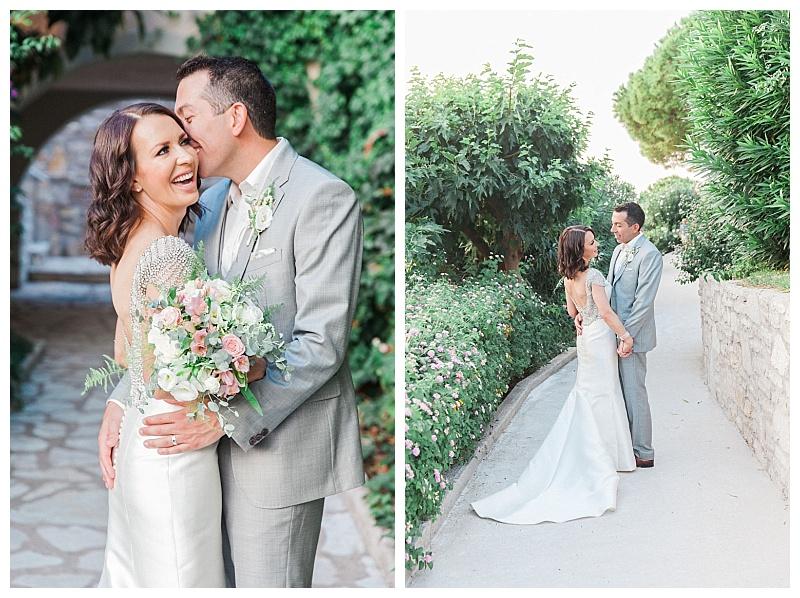 bride and groom elopement sivota thesprotias greece